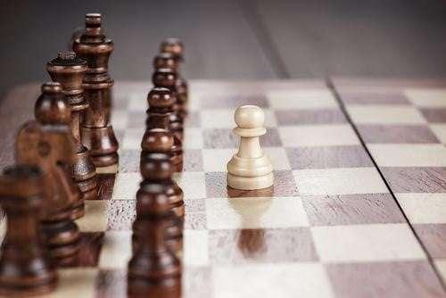 Logo Design Tips - Chess Board One Pawn Ahead
