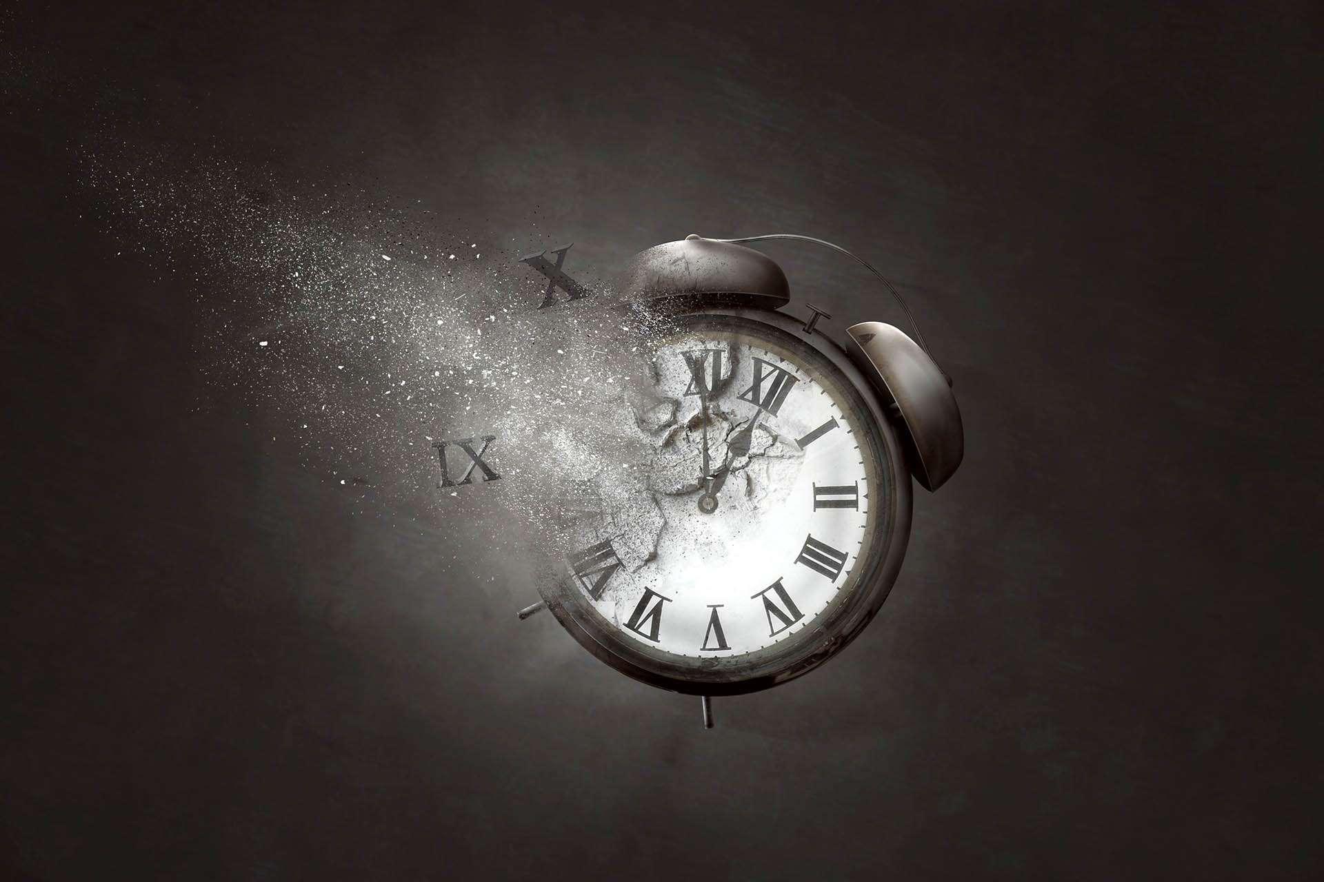 Photoshop design Clock